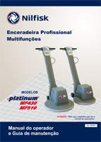 Enceradeiras industriais - Manual